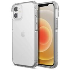 Coque antichoc transparente Raptic Clear pour iPhone 13.