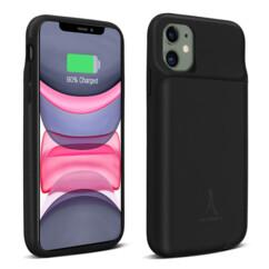 Coque pour iPhone 11 avec batterie 4500 mAh intégrée.
