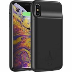 Coque pour iPhone X et XS avec batterie 3500 mAh intégrée.