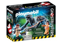 Playmobil Ghostbuster N°9223 - Venkman et les Chiens de la terreur.