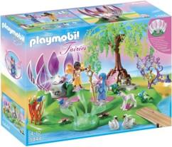 Île des fées et fontaine Playmobil Fairies n°5444.