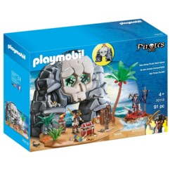Île des pirates Playmobil 70113.