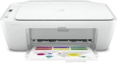 Imprimante HP DeskJet 2710 blanche.