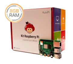 Kit débutant HutoPi avec Raspberry Pi 4 8 Go.
