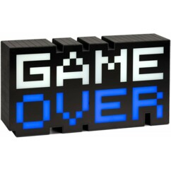 "Lampe USB ""8-Bit Game Over"" de 30 cm."