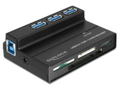 Lecteur de cartes 60 en 1 & Hub 3 ports USB 3.0