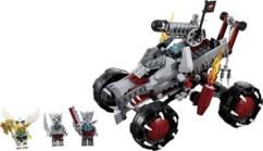 Le Loup tout-terrain de Wakz dans LEGO Chima.