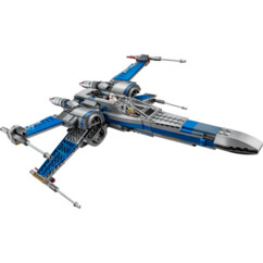 Le vaisseau Resistance X-Wing Fighter par LEGO Star Wars.
