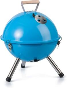 Mini barbecue à charbon Gastrolux bleu.