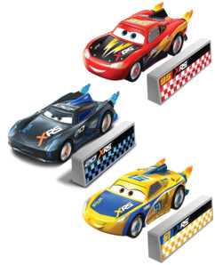 Pack de 3 voitures Cars XRS Rocket Racing