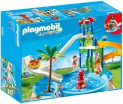 Pack Playmobil n°6669 : Parc aquatique avec toboggans.