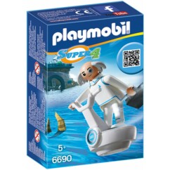 Packaging du set Playmobil Super 4 n°6690  Docteur X.