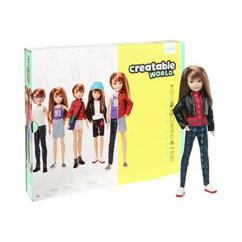 Poupée articulée Creatable World entièrement personnalisable, par Mattel.