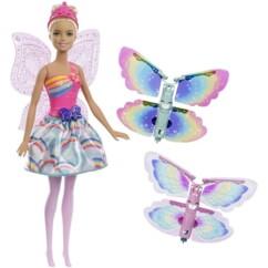 Barbie fée Papillon blonde Dreamtopia.