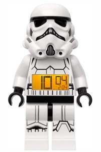 Réveil LEGO Stormtrooper debout.