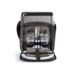 Sac pique-nique SEP128 livré avec 24 accessoires pour pique-niquer en famille.