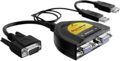 Séparateur de données VGA 2 ports