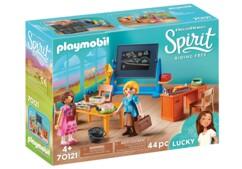 Boîte Playmobil Spirit : Mademoiselle Kate Flores et la salle de classe n°70121.