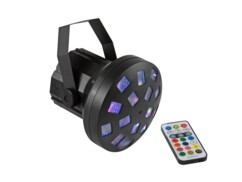 Spot LED Mini Z-20 avec télécommande infrarouge.