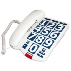 Téléphone fixe avec grandes touches Evatronic.