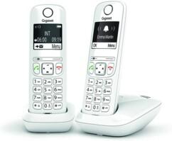 Téléphone fixe AS690 Duo - 2 combinés - Sans répondeur - Blanc