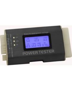 Testeur d'alimentation électrique avec écran LCD DeLock