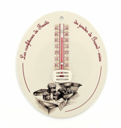 Thermomètre laqué vieilli Spear & Jackson.