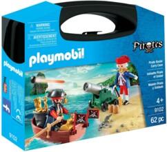 Valisette pirate et soldat Playmobil Pirates n°9102.