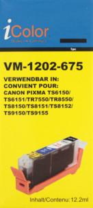 Cartouche compatible Canon CLI-581BK - Noir