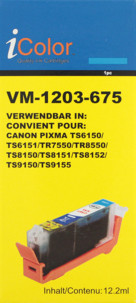 Cartouche compatible Canon CLI-581C - Cyan