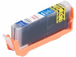 cartouche bleu compatible pour imprimante à jet d'encre Canon CLI-581 par iColor