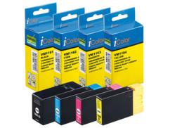 pack cartouches compatibles canon pgi1500 xl noir cyan magenta jaune