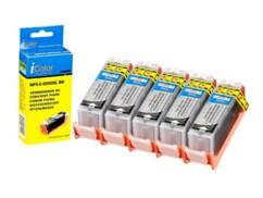 5 cartouches compatibles Canon PGI-550BK XL - Noir