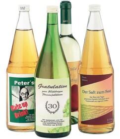 32 grandes étiquettes pour bouteilles