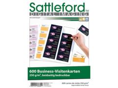 600 cartes de visites professionnelles - 250 G