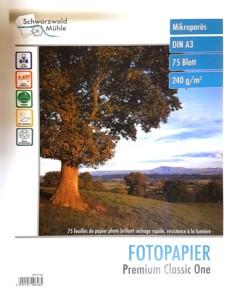 75 feuilles papier photo premium brillant A3 - 240 G