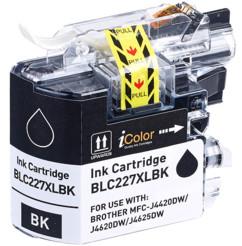 Cartouche iColor pour Brother (remplace LC-227XL BK) - Noir