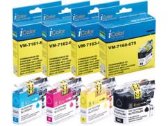 pack de 4 cartouches compatibles noir cyan magenta jaune pour brother DCP MFC