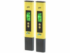 Lot de 2 pH-mètres numériques avec écran LCD de la marque AGT.