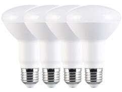 4 ampoules LED E27 - 11W - 950lm - Blanc lumière du jour