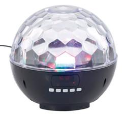 enceinte sans fil 12w avec effets lumineux disco stroboscope auvisio