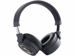Casque audio Over-Ear pliable ''OK-150.bk'' avec bluetooth