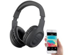 Casque supra-auriculaire sans fil avec fonctions Bluetooth, FM, MP3et MicroSD