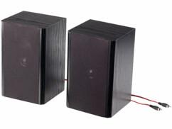 2 haut-parleurs pour chaîne stéréo ou amplificateur