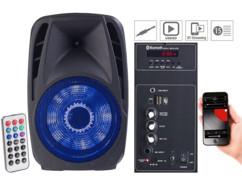 Enceinte mobile PMA-900.k avec lecteur MP3 et fonctions bluetooth/karaoké