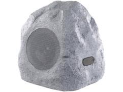 haut parleur bluetooth d'extérieur etanche pour jardin camouflage pierre rocher pour jardin auvisio
