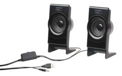 paire de haut-parleur 6w auvisio pas cher pour pc notebook macbook