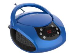 Lecteur CD portable stéréo avec radio et écran LED