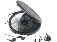Lecteur CD portatif avec fonctions bluetooth et antichoc