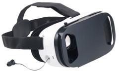 casque réalité virtuelle pour smartphone avec écouteurs et micro intégrés vrb90.3d auvisio